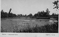 Лигово. Запущеный пруд (открытка)