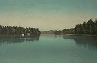 Санкт-Петербург. Озеро Лигово. (открытка)