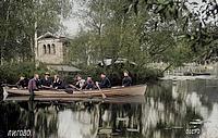 Лигово. Лиговское озеро, беседка, храм Амура