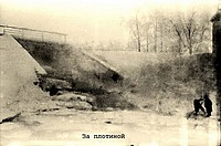 Урицк плотина дамба зима